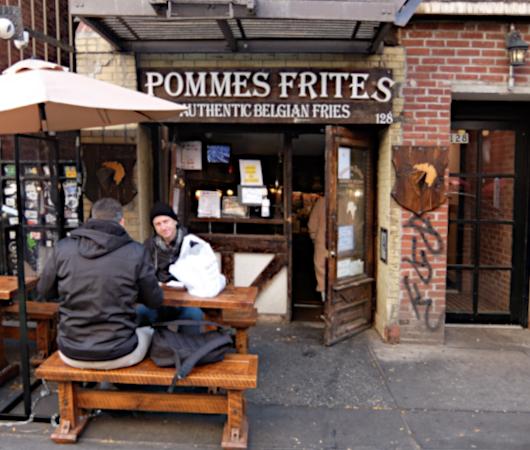 NY No.1のフライドポテトのお店-Pommes Frites(再訪2021)_b0007805_01042226.jpg