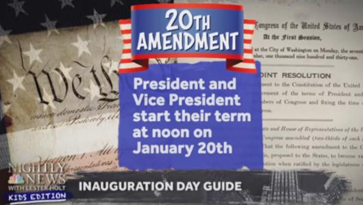 子ども向けニュース(NBC Nightly News Kids Edition)は「大統領就任式」をどう報じてるの?_b0007805_21403909.jpg