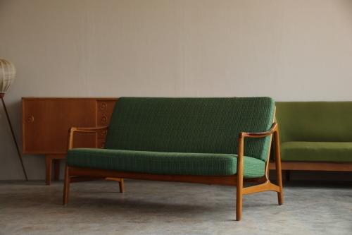 『Tove&Edvard Kindt-Larsen Sofa(Teak&Oak)』_c0211307_15225486.jpg