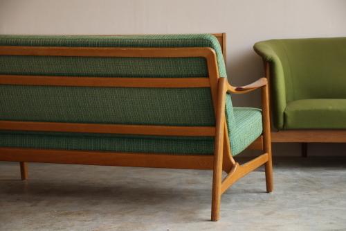 『Tove&Edvard Kindt-Larsen Sofa(Teak&Oak)』_c0211307_15231948.jpg