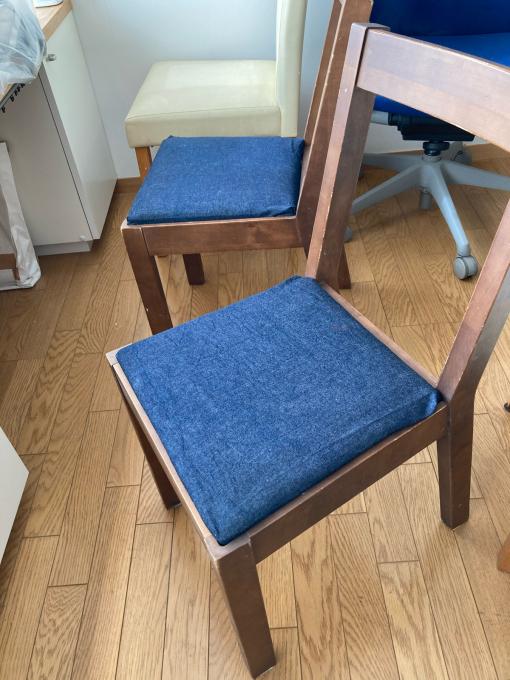 椅子カバー3 二つ目も完成_f0149924_11451942.jpg