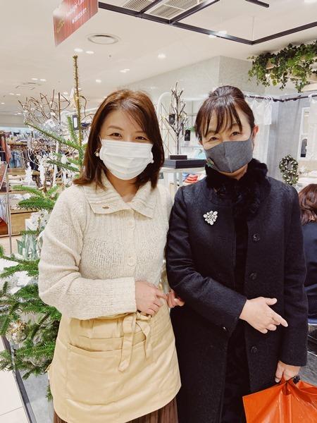 11/25 クリスマスカードワークショップ☆阪急うめだ本店_b0165872_21164534.jpg