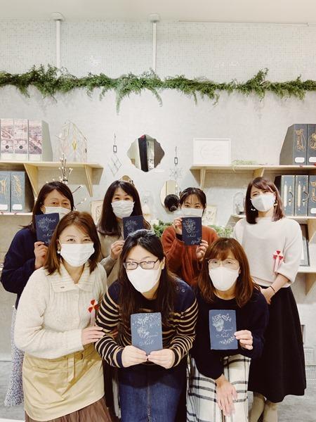 11/25 クリスマスカードワークショップ☆阪急うめだ本店_b0165872_21171738.jpg