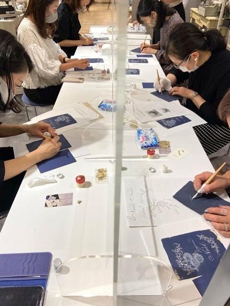11/25 クリスマスカードワークショップ☆阪急うめだ本店_b0165872_21174541.jpeg