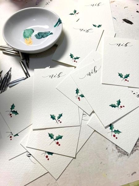 11/25 クリスマスカードワークショップ☆阪急うめだ本店_b0165872_21181002.jpeg