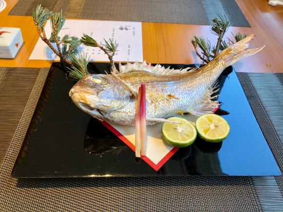 ホテル日航大阪 日本料理弁慶_d0339676_13570601.jpg