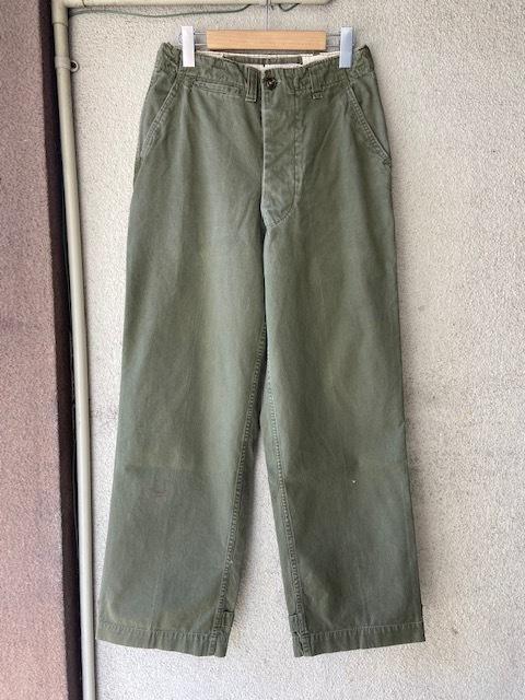 US ARMY M-43 M-45 Field Pants_c0146178_13293317.jpg