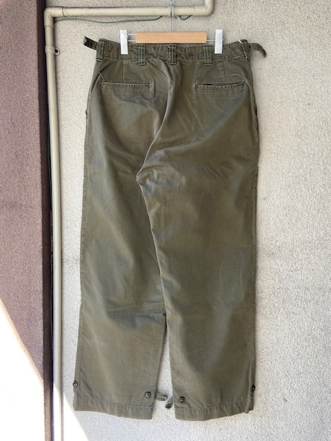 US ARMY M-43 M-45 Field Pants_c0146178_13473954.jpg