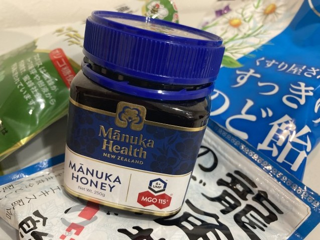 のど飴&蜂蜜 / koba_d0135801_15074280.jpg