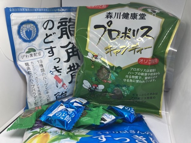 のど飴&蜂蜜 / koba_d0135801_15074673.jpg