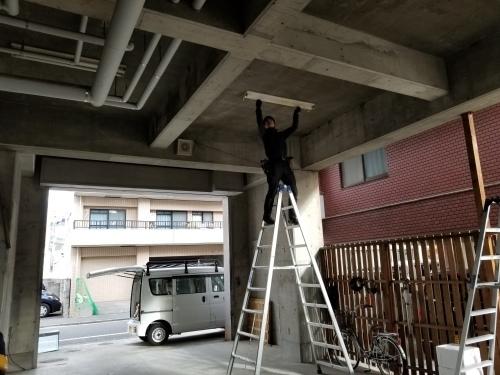 西区・M様邸 照明器具交換工事_d0125228_03030764.jpg