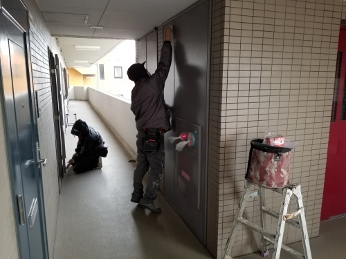 中区・F.Yビル 防水・塗装工事_d0125228_03250723.jpg