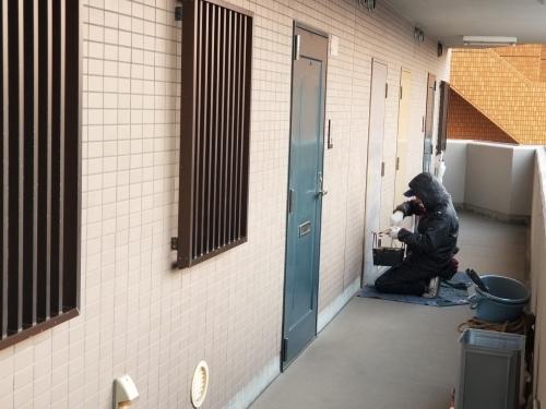 中区・F.Yビル 防水・塗装工事_d0125228_03252261.jpg