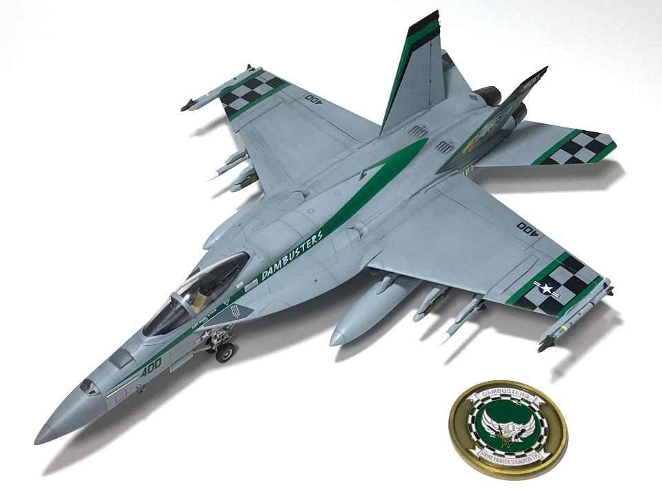 """アカデミー 1/72 F/A-18E VFA-195 \""""チッピー・ホー!\"""" 2012(完成)_b0055614_18582946.jpg"""