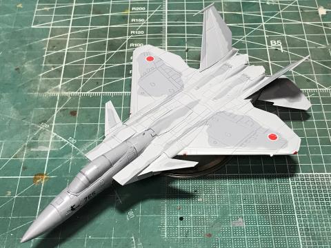 HMA GARAGE 1/144 F-15J改 イーグルプラス (完成)_b0055614_19372451.jpg