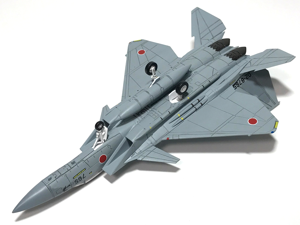 HMA GARAGE 1/144 F-15J改 イーグルプラス (完成)_b0055614_19405100.jpg