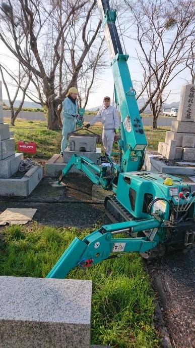 墓じまい 滋賀県_e0255523_16314103.jpg
