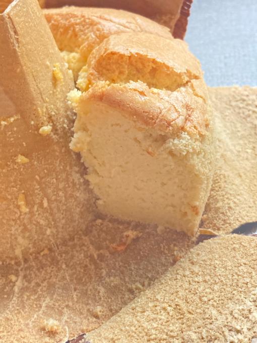 今日のお菓子2021.01.21米粉のシフォンケーキ、オートミールクッキー_f0149924_15050350.jpg