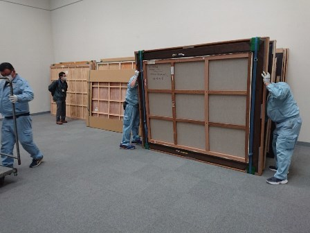 作業日誌(「改組新第7回日展名古屋展」巡回作品搬入作業)_c0251346_11550616.jpg