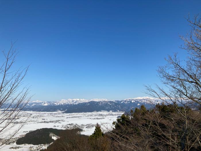 冬の文殊山。_a0204961_17201347.jpg