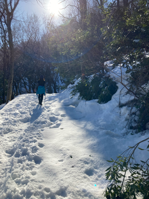 冬の文殊山。_a0204961_17201456.jpg