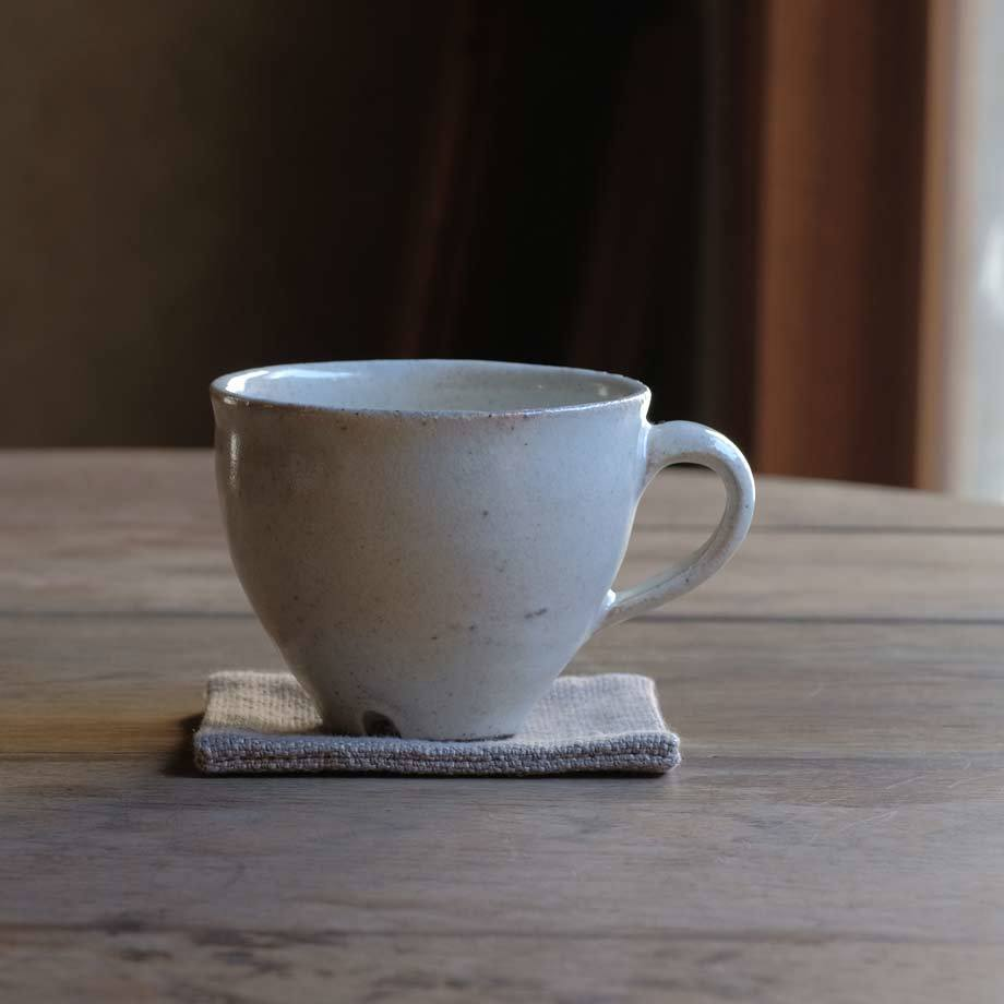 村木雄児さんの粉引マグカップ_f0380269_18194760.jpg