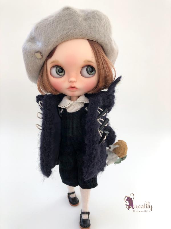 *lucalily * dolls clothes* Loop Tweed Duffle Coat Set *_d0217189_12145562.jpeg