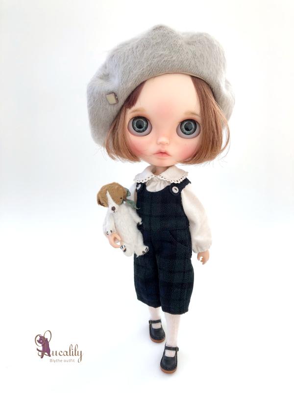 *lucalily * dolls clothes* Loop Tweed Duffle Coat Set *_d0217189_12150513.jpeg