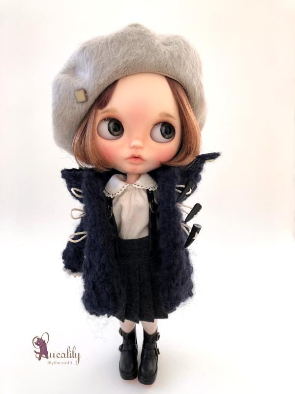 *lucalily * dolls clothes* Loop Tweed Duffle Coat Set *_d0217189_12151189.jpeg