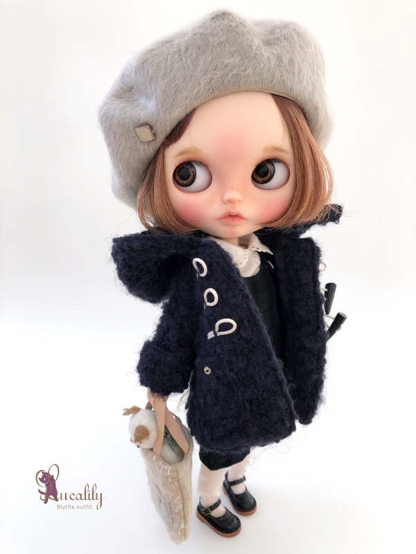 *lucalily * dolls clothes* Loop Tweed Duffle Coat Set *_d0217189_12152173.jpeg