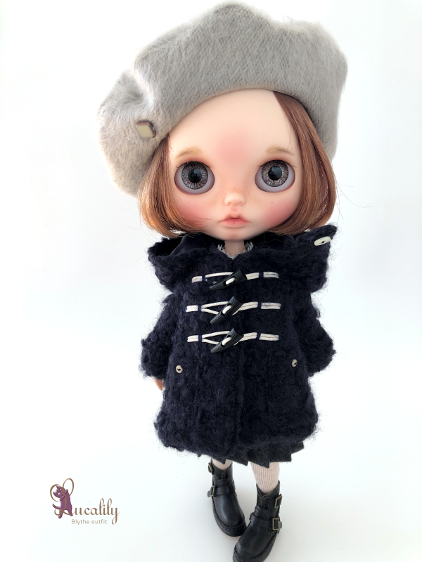 *lucalily * dolls clothes* Loop Tweed Duffle Coat Set *_d0217189_12152477.jpeg