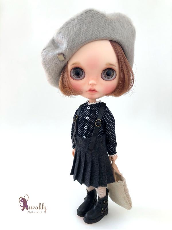 *lucalily * dolls clothes* Loop Tweed Duffle Coat Set *_d0217189_12152730.jpeg