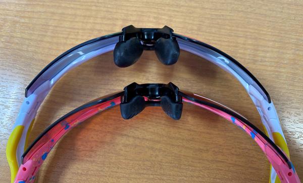 タケオ社長のDAKARA金栄堂 Youtube編 RADAR系サングラスの見た目を変えないでノーズパッドの高さを改良_c0003493_13143549.jpg