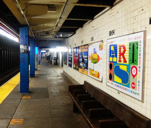 NYの地下鉄ホームで見かけたアート・スクール(School of Visual Arts)の広告_b0007805_08011458.jpg