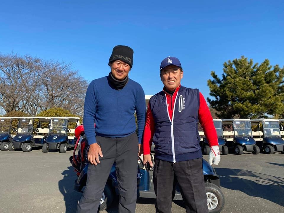 牧野さん、石黒ちゃん、お二人と親しい藤井誠プロとラウンドさせていただきました。とても勉強になりました。_c0186691_15103838.jpg