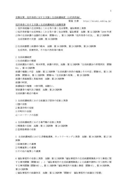 社会福祉士、精神保健福祉士試験受験対策直前講座オンライン 動画 東洋大学にて、当ブログ筆者が講義_f0206007_12175410.jpg