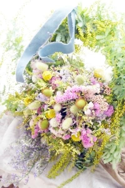 春の歓びリースbyKACHA花_b0151911_23365572.jpg