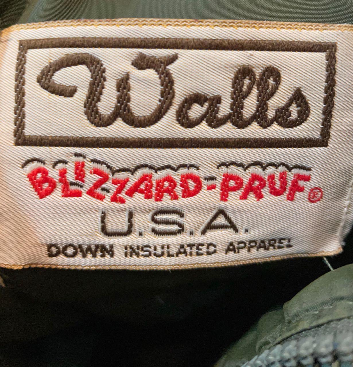 1月24日(日)90s MADE IN U.S.A Walls  DOWN JACKET 再入荷!_c0144020_12465414.jpg