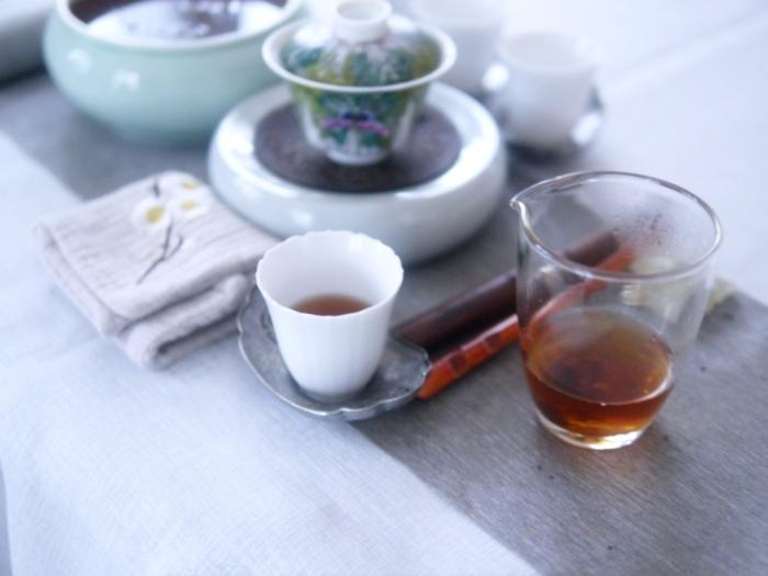普洱茶の封を開ける_a0169924_12142063.jpg