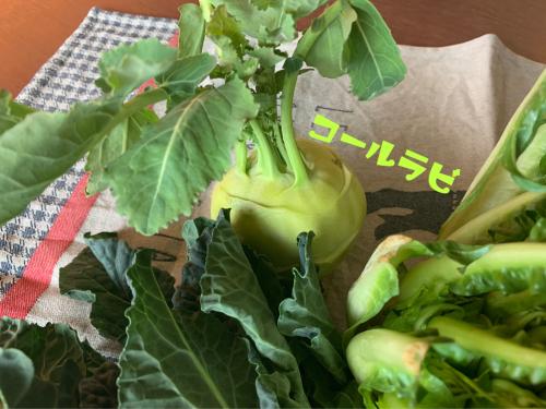 【おうちゴハン】冬の西洋・珍野菜♡_f0207881_14105488.jpg