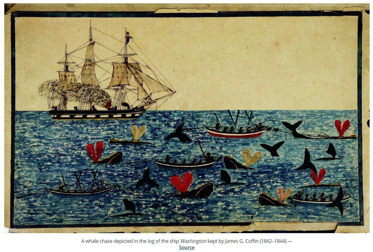 今日はプラス(ついでにアメリカ捕鯨船の航海日誌など)_c0025115_21405369.jpg