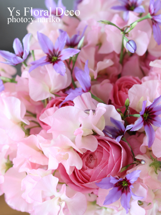 ほのかに甘い香りの花束_b0113510_12511284.jpg