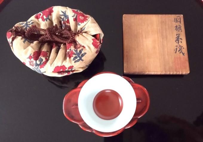 1月27日「国旗制定記念日」・「国旗茶碗」・金柑_b0255824_23032590.jpg