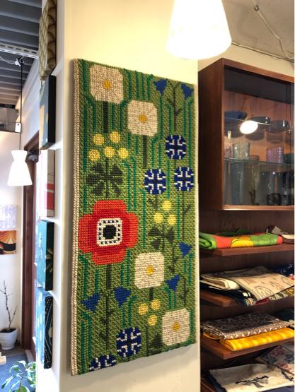 vintage fabric panel (SWEDEN)_c0139773_13281120.jpg