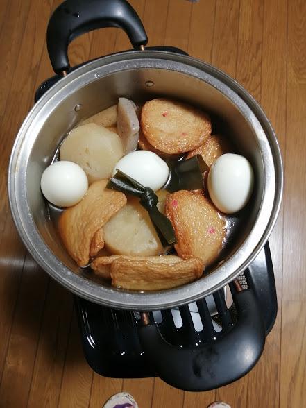 自然薯・・おでん・・金時草_f0129585_19271925.jpg