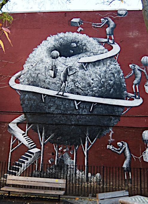 じわじわ、じっくりニューヨークの壁画巡り、チェルシー編(1)10番街周辺_b0007805_19154027.jpg