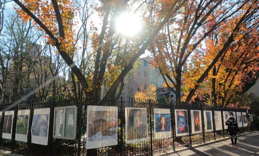 じわじわ、じっくりニューヨークの壁画巡り、チェルシー編(1)10番街周辺_b0007805_19272567.jpg