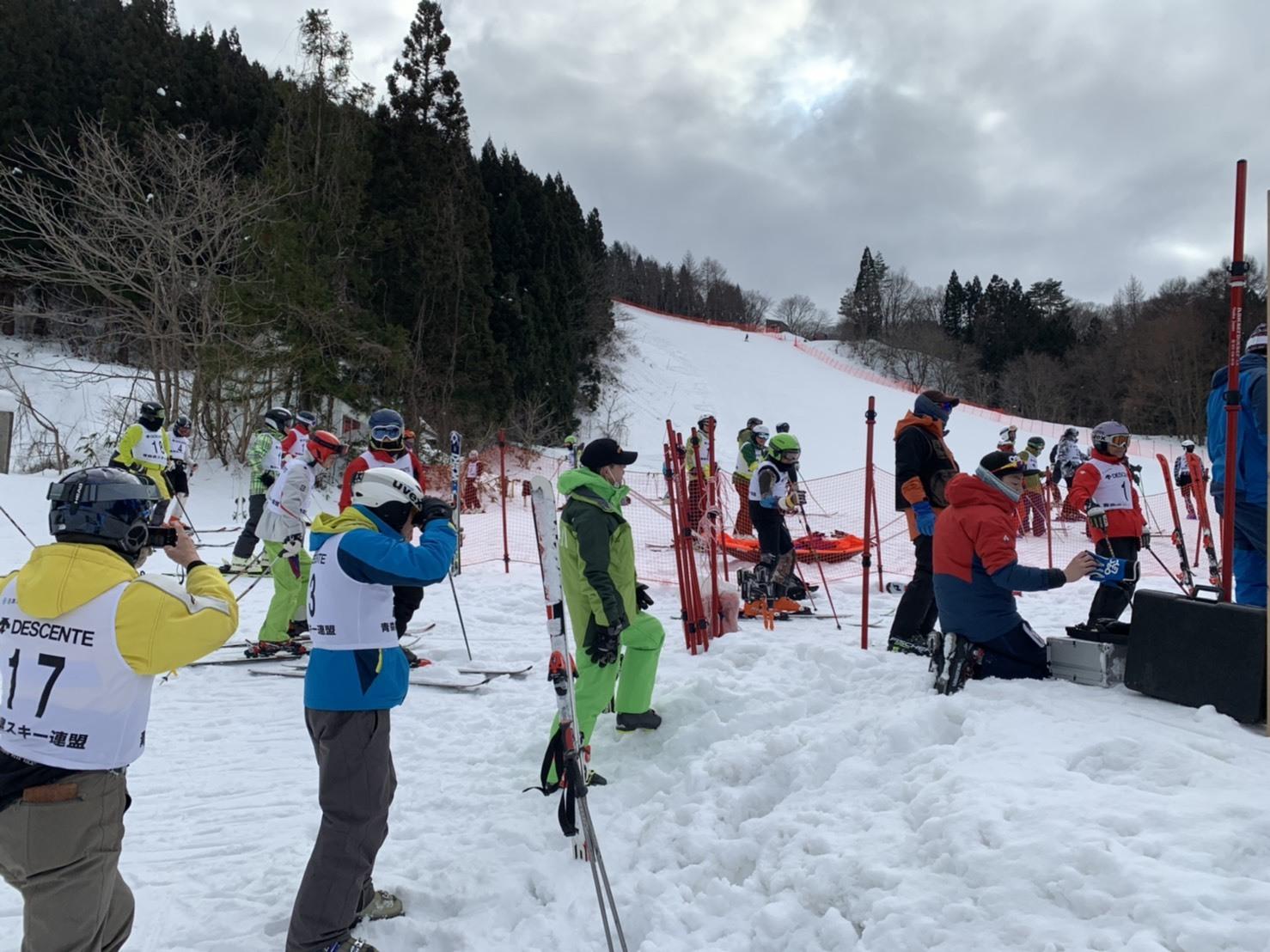 あおもりシニアフェスティバル 第11回スキー交流大会_d0366509_11415162.jpg