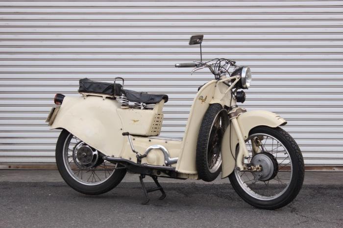 Moto Guzzi Galletto 160 入荷_a0208987_15460007.jpg