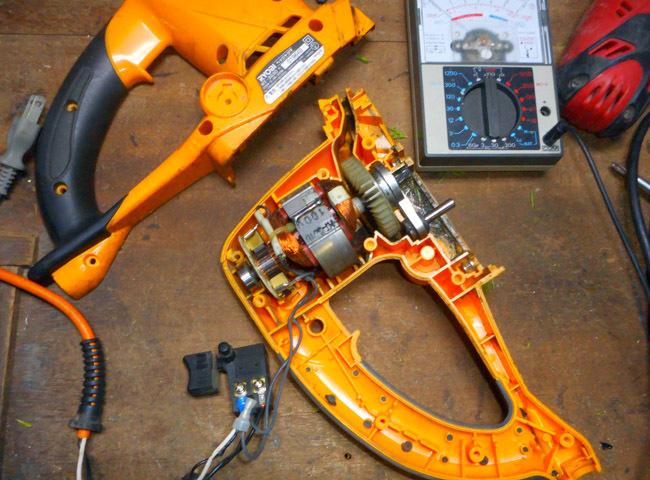 ヘッジトリマーの修理_c0081499_17460209.jpg